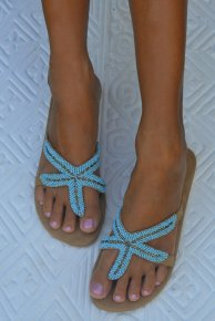 Hot Lava Sea Star Sandaler Turkos